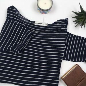 Zara Stripe Lightweight Summer Tee
